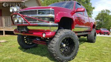 "1991 Chevrolet K1500 - 20x14 -76mm - Scorpion SC17 - Lifted >9"" - 38"" x 15.5"""