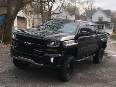 "2017 Chevrolet Silverado 1500 - 20x9 0mm - Pro Comp Series 39 - Suspension Lift 6.5"" - 35"" x 12.5"""
