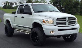 "2007 Dodge Ram 2500 - 20x14 -76mm - Fuel Hostage - Suspension Lift 3"" - 35"" x 12.5"""