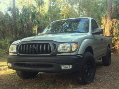 """2001 Toyota Tacoma - 15x7 0mm - Pacer Soft 8 - Suspension Lift 3"""" - 225/70R15"""