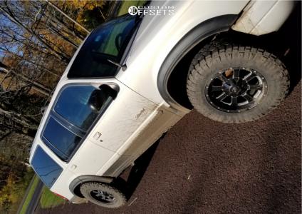 2000 Ford Explorer - 17x9 -12mm - Vision Locker - Stock Suspension - 265/70R17