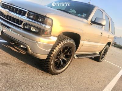 2003 Chevrolet Tahoe - 20x9 27mm - Oe Performance 169 - Leveling Kit - 275/45R20