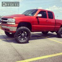 "2001 Chevrolet Silverado 1500 - 20x10 -12mm - Fuel Dune - Suspension Lift 6"" - 35"" x 12.5"""