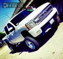 "2008 Chevrolet Silverado 1500 - 22x14 -76mm - XD Armour - Suspension Lift 7.5"" - 325/50R22"