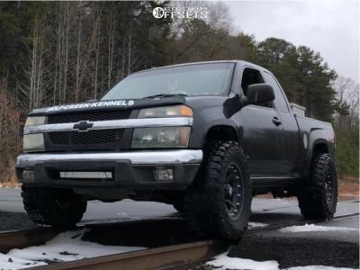"2007 Chevrolet Colorado - 17x9 -12mm - XD Addict - Stock Suspension - 33"" x 12.5"""