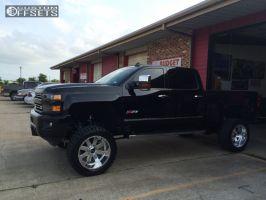 """2015 Chevrolet Silverado 2500 - 22x12 -51mm - Sota AWOL - Suspension Lift 7"""" - 325/50R22"""