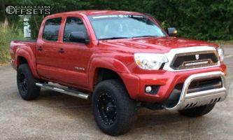 "2013 Toyota Tacoma - 17x9 -12mm - Fuel Hostage - Suspension Lift 3"" - 305/50R17"