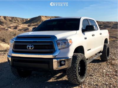 2015 Toyota Tundra - 20x10 -24mm - XD Xd820 - Leveling Kit - 295/55R20