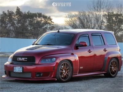 2010 Chevrolet HHR - 18x8 40mm - Enkei Pf01 - Coilovers - 255/35R18