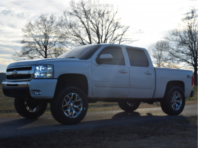 """2008 Chevrolet Silverado 1500 - 20x9 24mm - Spaced Out Stockers Spaced Out Stockers - Suspension Lift 3.5"""" - 35"""" x 12.5"""""""