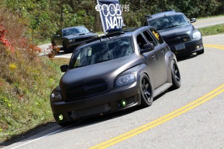 2008 Chevrolet HHR - 18x9.5 22mm - Varrstoen Es2 - Coilovers - 245/40R18