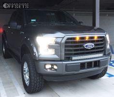 "2015 Ford F-150 - 20x9 0mm - Pro Comp Series 32 - Suspension Lift 6"" - 35"" x 12.5"""