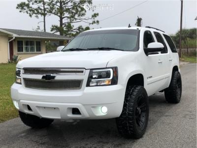 "2007 Chevrolet Tahoe - 20x9 -12mm - XD Crank - Leveling Kit - 33"" x 12.5"""