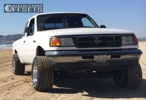 "1994 Ford Ranger - 15x10 -46mm - Pro Comp  1069 - Suspension Lift 6"" - 26"" x 12.5"""