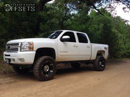 "2013 Chevrolet Silverado 1500 - 20x9 -12mm - XD Spy - Suspension Lift 7.5"" - 35"" x 12.5"""