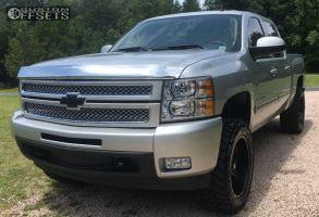 2013 Chevrolet Silverado 1500 - 20x10 -12mm - Fuel Maverick -  - 295/55R20