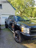 "2010 Chevrolet Silverado 1500 - 17x9 -12mm - XD XD811 - Suspension Lift 4"" - 33"" x 12.5"""