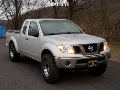 2009 Nissan Frontier - 16x8 -12mm - Pro Comp Series 89 - Leveling Kit - 285/75R16