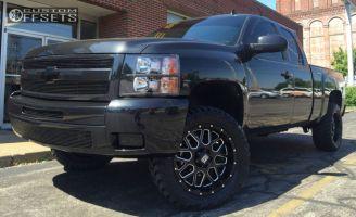 "2010 Chevrolet Silverado 1500 - 20x9 0mm - XD XD820 - Suspension Lift 3.5"" - 305/55R20"