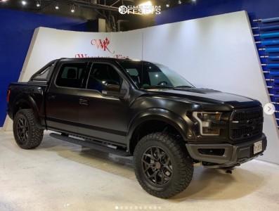 """2018 Ford Raptor - 20x9.5 -12mm - Vorsteiner Venom Rex - Leveling Kit - 35"""" x 12.5"""""""