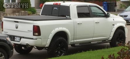 """2013 Ram 1500 - 20x8 19mm - Spaced Out Stockers Spaced Out Stockers - Suspension Lift 3.5"""" - 35"""" x 10.5"""""""