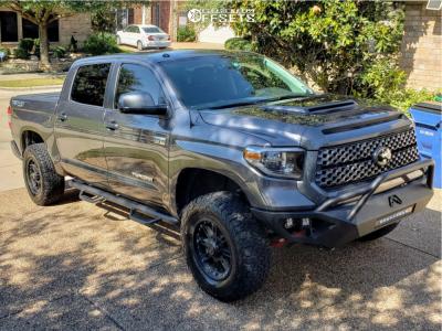 "2018 Toyota Tundra - 18x9 12mm - Black Rhino Rockwell - Suspension Lift 3"" - 305/65R18"