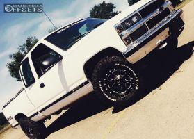 1998 Chevrolet K1500 - 16x8 6mm - Fuel Boost - Stock Suspension - 265/75R16