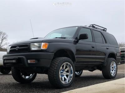 """1999 Toyota 4Runner - 20x10 -19mm - Hostile Alpha - Suspension Lift 3"""" - 285/55R20"""