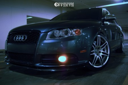 2005 Audi S4 - 19x8.5 15mm - Audi Rs4 Alloys - Coilovers - 255/45R19