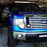 """2012 Ford F-150 - 20x10 -25mm - Ultra Vortex - Leveling Kit - 33"""" x 12.5"""""""