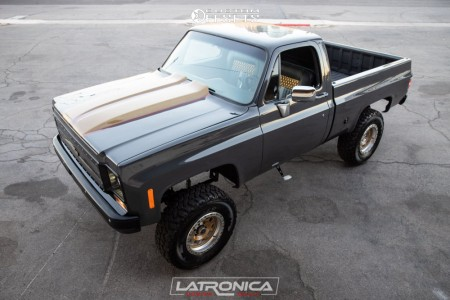 "1977 Chevrolet K10 Pickup - 17x9 -12mm - XD Xd132 - Suspension Lift 4"" - 35"" x 12.5"""