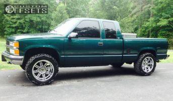"1997 Chevrolet K1500 - 20x10 -24mm - XD Diesel - Leveling Kit - 33"" x 12.5"""