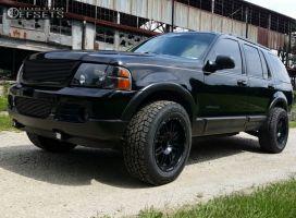 2005 Ford Explorer - 18x9 0mm - American Racing AR901 - Stock Suspension - 275/65R18
