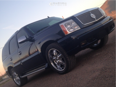 2006 Cadillac Escalade - 20x9.5 15mm - DUB Funky Child - Stock Suspension - 305/45R20
