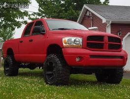 """2006 Dodge Ram 1500 - 20x12 -44mm - Xd Rockstar Ii - Suspension Lift 6"""" - 37"""" x 13.5"""""""