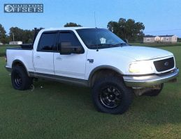 2001 Ford F-150 - 18x10 -12mm - Fuel Trophy - Leveling Kit - 325/60R18