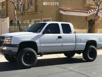 "2003 Chevrolet Silverado 1500 - 16x8 0mm - Method Nv - Suspension Lift 6"" - 315/75R16"