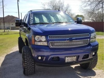 "2010 Chevrolet Avalanche - 22x12 -51mm - ARKON OFF-ROAD Lincoln - Suspension Lift 6.5"" - 35"" x 12.5"""