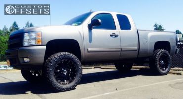 "2009 Chevrolet Silverado 1500 - 20x9 -12mm - XD Hoss - Suspension Lift 7.5"" - 35"" x 12.5"""