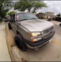 "2006 Chevrolet Silverado 1500 - 20x12 -44mm - Fuel Maverick - Suspension Lift 3"" - 305/50R20"