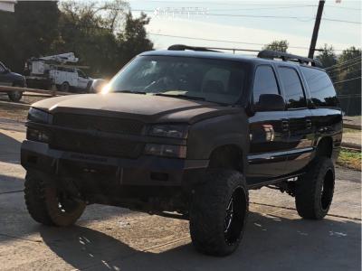 "2003 Chevrolet Suburban 1500 - 22x12 -44mm - Hostile Sprocket - Suspension Lift 6"" - 35"" x 12.5"""