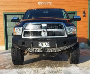 "2012 Dodge Ram 3500 - 18x9 -12mm - Fuel Cleaver - Suspension Lift 3"" - 305/70R18"