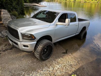 """2010 Dodge Ram 3500 - 24x14 -76mm - Tis 544bm - Leveling Kit - 35"""" x 13.5"""""""