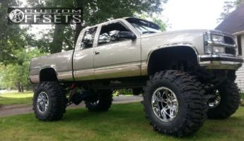 """1998 Chevrolet K2500 - 20x14 -76mm - Fuel Hostage - Lifted >9"""" - 42"""" x 18.5"""""""