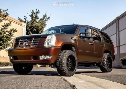 """2007 Cadillac Escalade - 20x12 -44mm - Xtreme Mudder XM-330 - Leveling Kit - 33"""" x 12.5"""""""