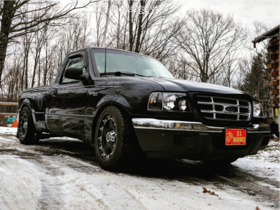 2002 Ford Ranger - 18x9 20mm - Mamba M4 - Lowered Adj Coil Overs - 245/45R18