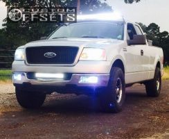 """2005 Ford F-150 - 17x8 10mm - Ultra Rogue 175 - Leveling Kit - 35"""" x 12.5"""""""