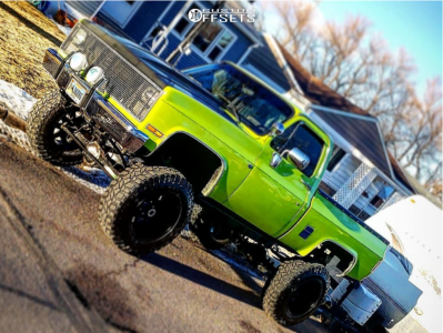 "1985 Chevrolet K10 - 20x12 -51mm - Toxic Widow - Suspension Lift 8"" - 37"" x 12.5"""