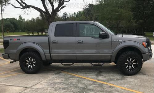 Fuel Maverick 18x9 -12
