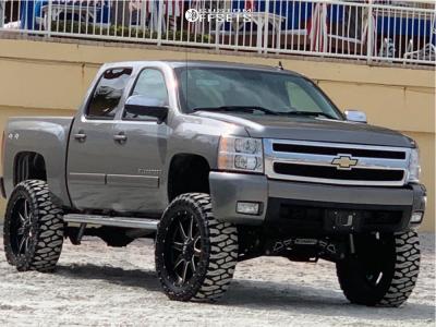 "2008 Chevrolet Silverado 1500 - 24x10 1mm - Fuel Maverick - Suspension Lift 9"" - 38"" x 13.5"""